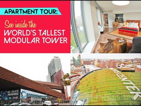 Apartment Tour: Inside the World's Tallest Modular Building (461 Dean)