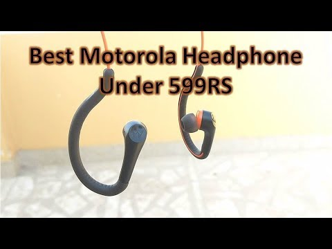 Motorola Headphone for all Moto Phones | G5 Plus, G4 Plus, Moto Z, Z2