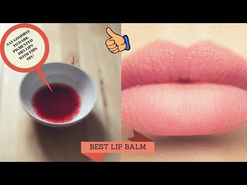 HOW TO MAKE THE BEST DIY LIP BUTTER & SCRUB FOR DARK PIGMENTED DRY LIPS. VEGAN! HELLO PINK LIPS.