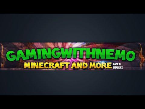 Banner speedart #4 - GamingWithNemo