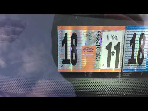 Counterfeit Pennsylvania inspections stickers