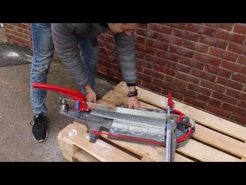 How to cut bubble glass tiles with Montolit 63P3