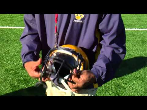How to Attach a Football Visor
