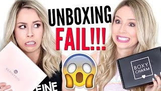 $224?? | UNBOXING Boxycharm VS Glossybox FAIL!!