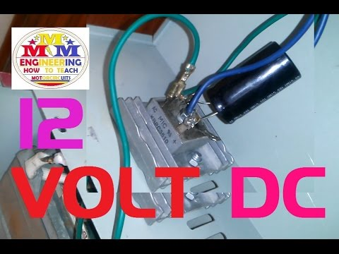 220 volt AC to 12 volt Dc Converter diode Bridge Rectifier charger and Adapter