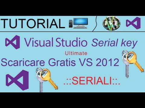 TUTORIAL: Scaricare Visual Studio 2012 gratis ( serial key in descrizione )