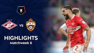 Highlights Spartak vs CSKA (2-1) | RPL 2019/20