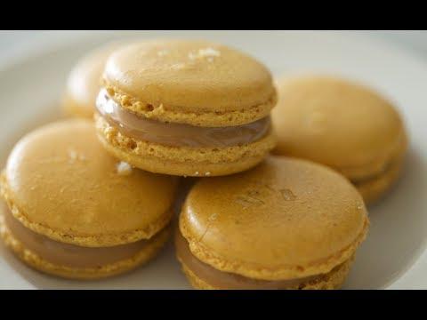 Salted Caramel Macarons   Byron Talbott