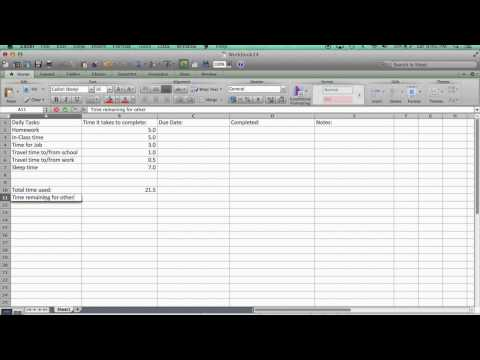 Creating An Effective Task Manager Chart Using Excel