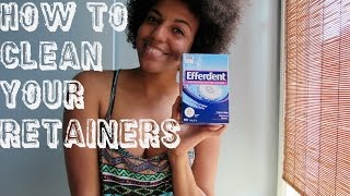 How To Cleaning Retainers Best Way To Clean Your Retainers Cleanest R
