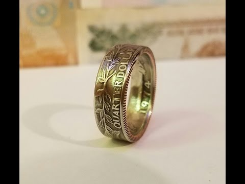 How to Make a Nice Coin Ring Without an Expensive Ring Sizer