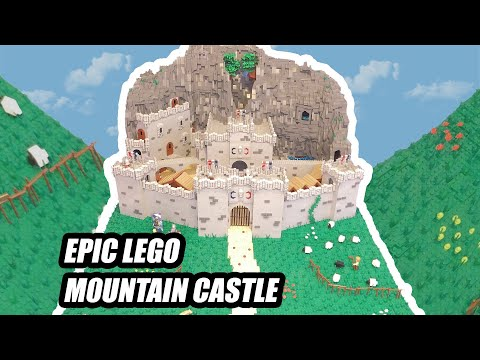 TIMELAPSE: Custom Lego Castle