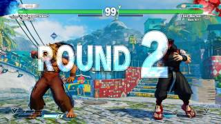 Download Street Fighter V Clint Barton (Rashid) VS. Corrupted1Smurf (Akuma) Video