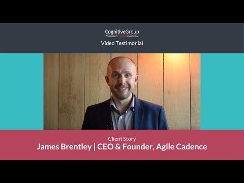 Microsoft Talent solutions   James Brentley   CEO & Founder AgileCadence