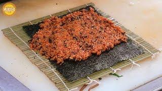 Download 낙성대 │ 고추장 김밥 │ Gochujang Gimbap │ 한국 길거리 음식 │ Korean Street Food Video