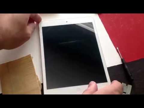 iPad Mini screen scratch test