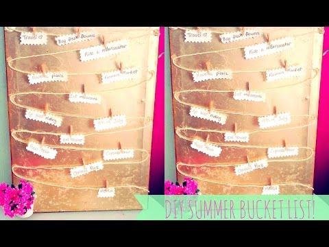 ♥ DIY Summer Bucket List- #MakeitinMay!