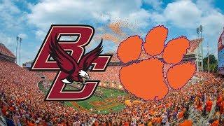 Boston College vs. #2 Clemson | 2017 Game Highlights
