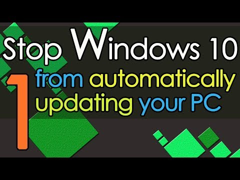 Stop Windows 10 from automatically updating your PC method 1