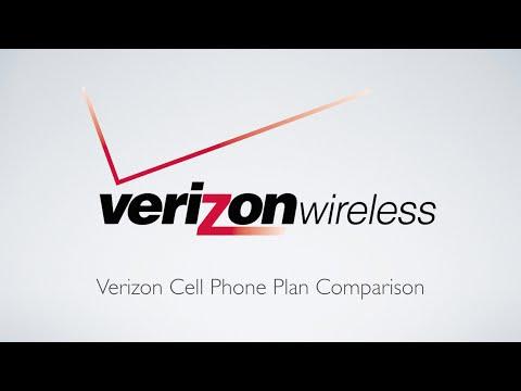 Verizon Cell Phone Plan Comparison!
