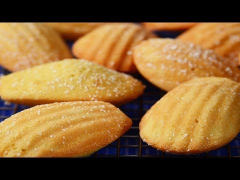 Madeleines Recipe Demonstration - Joyofbaking.com