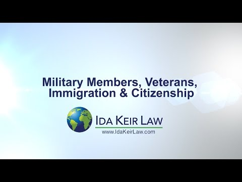 U.S. Immigration & Citizenship for Active Military, Veterans, & Family