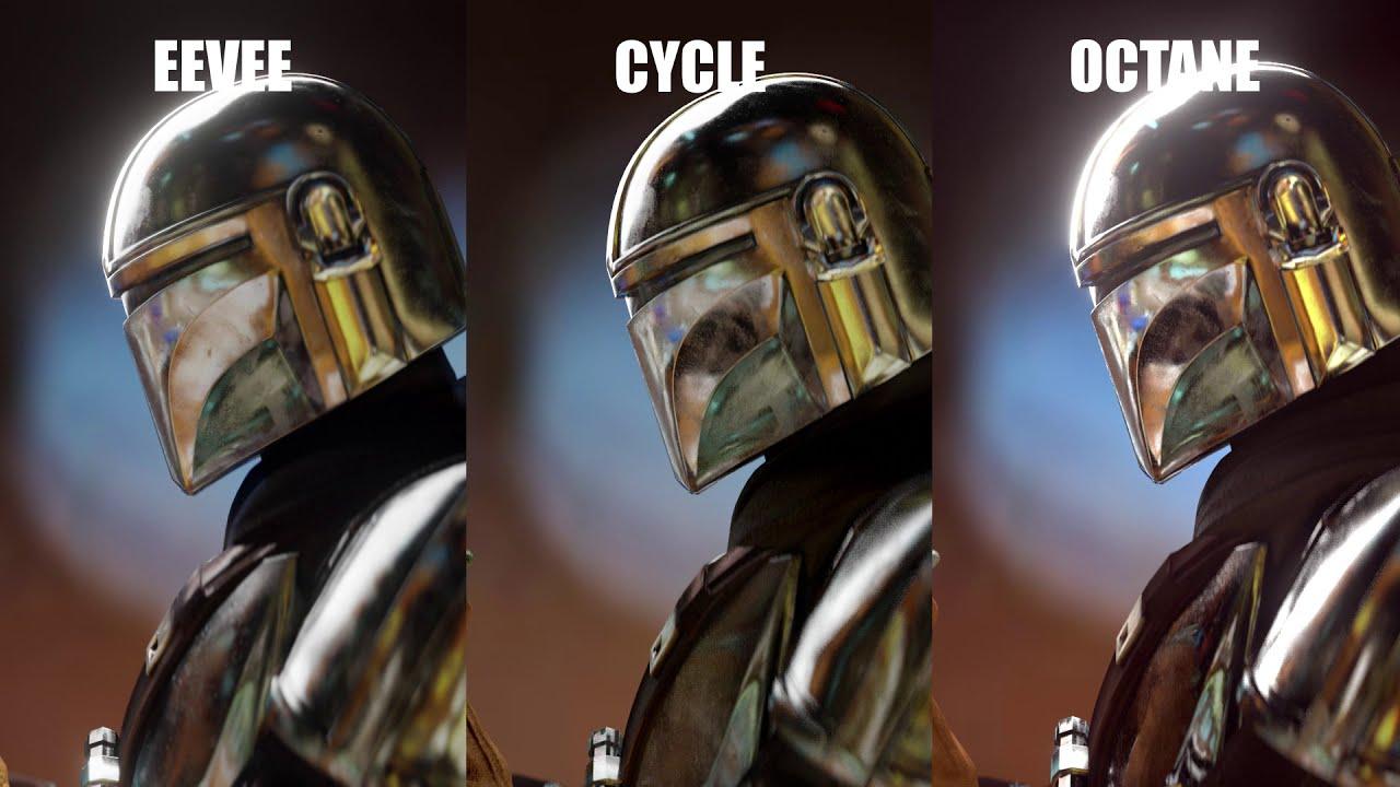 Download Blender 2.9 | EEVEE vs Cycle vs Octane | Mandalorian Ending Scene MP3 Gratis
