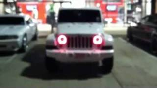 713 Motoring Peppermint Edition Jeep Wrangler on 28s
