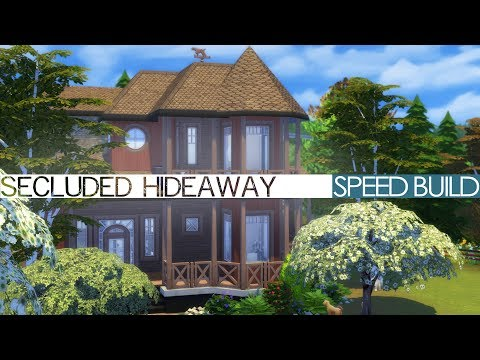 The Sims 4 Cats & Dogs - Speed Build - SECLUDED HIDEAWAY
