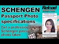 Schengen Visa Photos snapped and printed in London, Paddington at Reload Internet