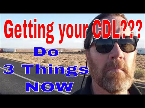 3 Things You MUST Do Before CDL Trucking School   Red Viking Trucker