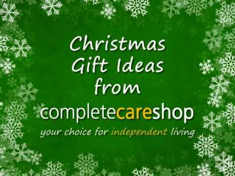 Christmas gift ideas for the elderly and disabled