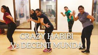 Crazy Habibi Vs Decent Munda | Arjun Patiala | Guru Randhawa | Bollywood Fitness | Harleen Kaur