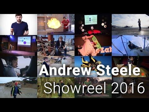 Dr Andrew Steele, scientist, presenter – Showreel 2016