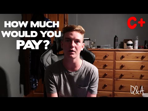 HOW MUCH WOULD YOU PAY FOR A C IN MATHS?...