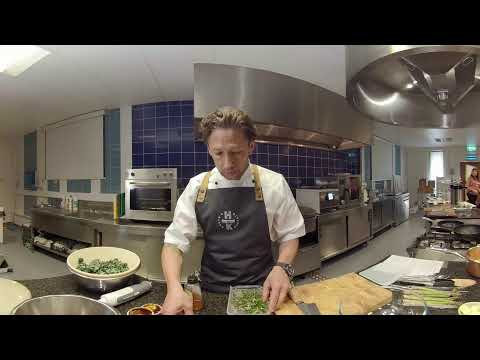 Ian Haste 360 setup video for Cooking video shoot