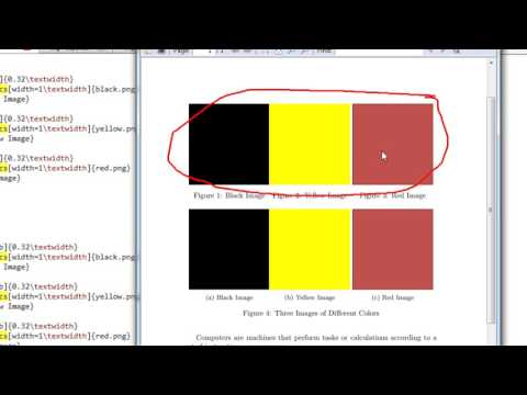 Week 3   Latex Tutorial   Lecture 004 Insert Images Side by Side in Latex Subfigure Subcaption