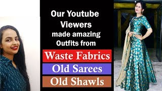 Lehnga Inspired from Rajasthani Outfits|Sari Reuse Project| In Hindi