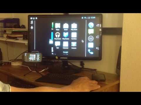 SAMSUNG GALAXY NOTE 2 AS  PC AND HOOK  UP TO HD TV