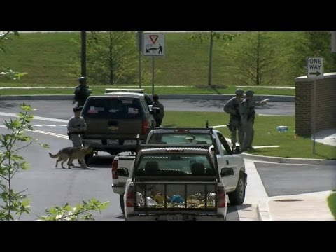 U.S. Joint Base Andrews in chaos over active shooter drill