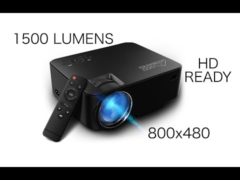 T20 HD READY Mini Projector - Play PS4, Watch Movies on 176 inch HD Screen