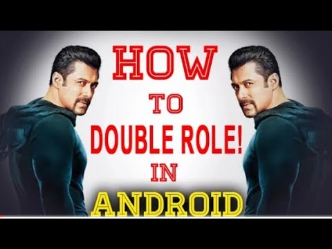 How to make double role on android || lattest 2017