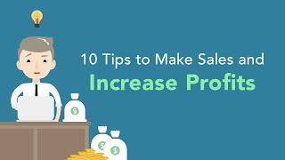 10 Tips to Increase Profits and Sales for Your Business | Brian Tracy
