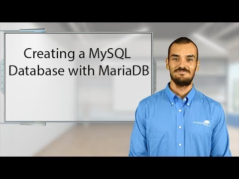 Creating a MySQL Database with MariaDB