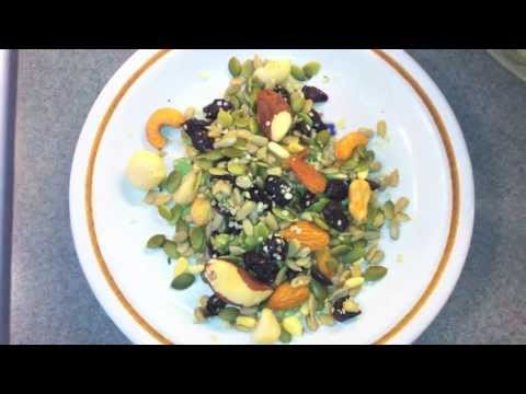 How To Make Trail Mix - Heart Healthy Recipe