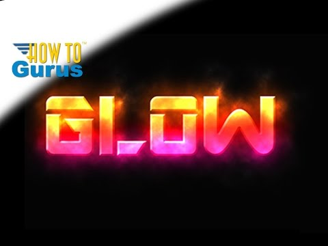 How To Add Glowing Text Effect Glow Style Text Photoshop Elements 2018 15 14 13 12 11 Tutorial