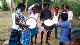 Tamizhan death music no used proper instruments like broom