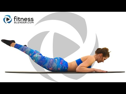 Pilates Butt and Thigh Workout - 20 Minute Pilates Workout
