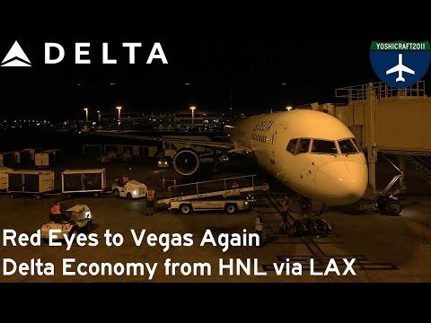 Red Eyes to Vegas Again - Delta Economy from Honolulu via LAX (HNL-LAX-LAS)