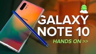 Galaxy Note 10 / 10 Plus Impressions: The $1300 flagship with no headphone jack!